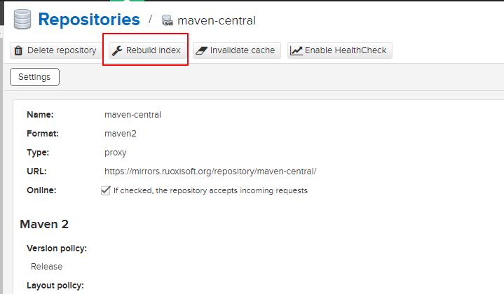 Nexus 服务器同步迁移